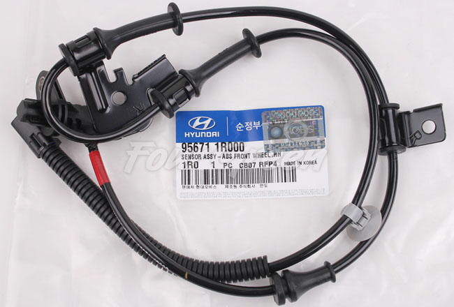 WHEEL SPEED SENSOR ABS FRONT RIGHT for HYUNDAI ACCENT 2012-2016 956711R000